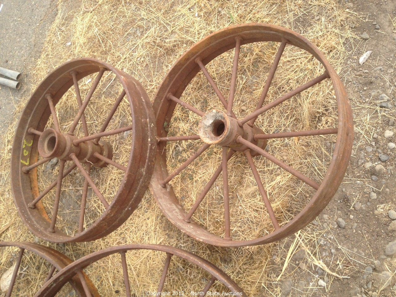 Vintage Steel Wheels : North state auctions auction antique car barn finds