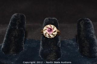 Cocktail Ring Gold & Diamond
