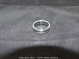 Tungsten Carbide Carbon Fiber Ring. Ya, Really.