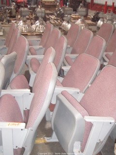 Lot of 12 Theater/Stadium Seats