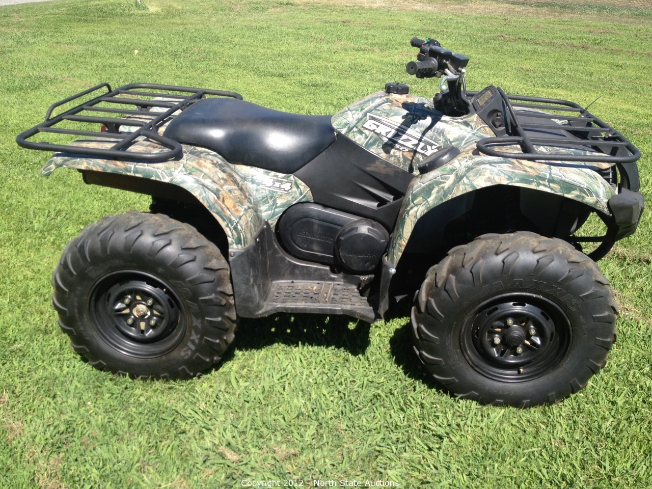 North state auctions auction motorcycle extravaganza for Yamaha grizzly 450 for sale