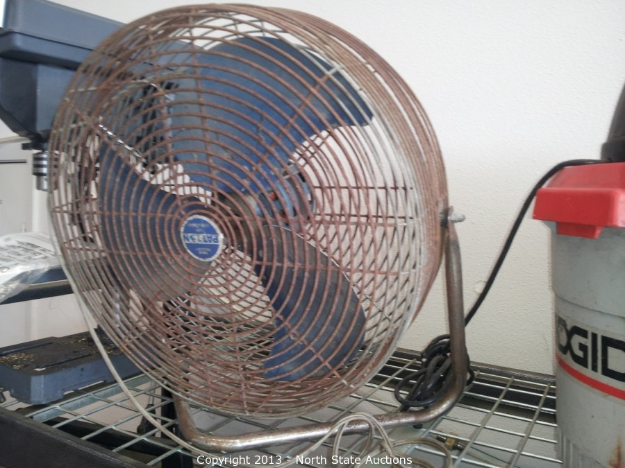 Patton High Velocity Air Circulator : North state auctions auction gene s automotive in