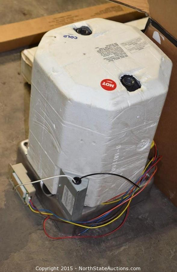 North state auctions auction june treasures item hot for Hot water heater 101