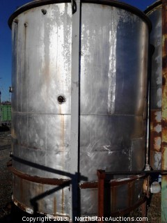 1550 Gallon,Stainless Steel Water Tank