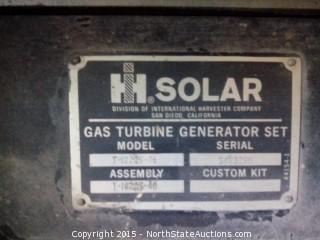 Solar Saturn Bemac Turbine Generator, 800kw, 1202Amp, 3 Phase, 1200RPM