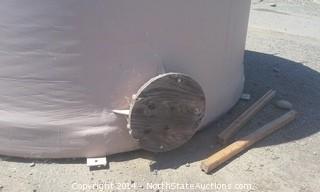 5,000 Gallon Fiberglass, Water Storage Tank, never used