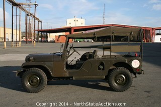 1954 WILLYS M170 AMBULANCE JEEP