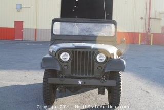 1952 WILLYS M38A1 JEEP