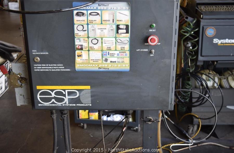 esp smog machine
