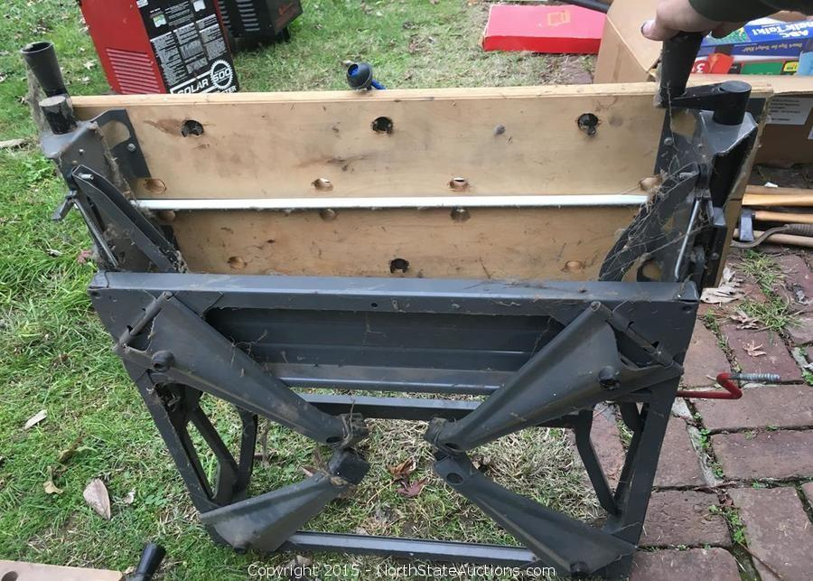 North State Auctions Auction Yuba City Estate Liquidation Part 2 Item Black And Decker Bench