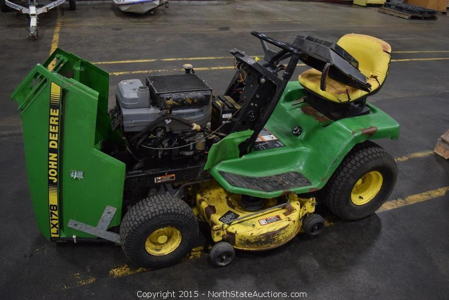 John Deere 178 Lawn Tractor : North state auctions auction northstate january
