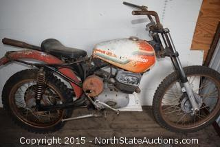 1972 Harley Davidson Dirt Bike