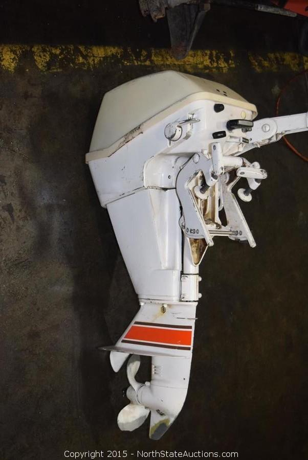 North state auctions auction northstate february for Best outboard motor warranty
