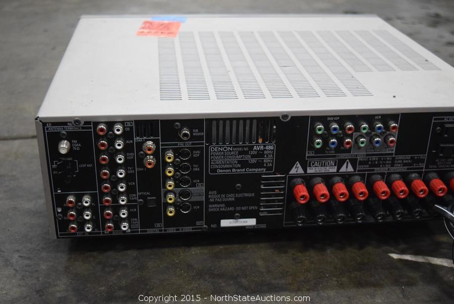 North state auctions auction northstate february for Multi zone receiver yamaha