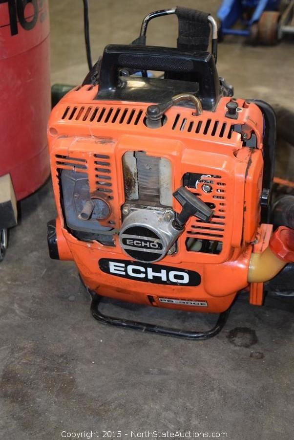 Echo Blower Vacuum : North state auctions auction northstate march