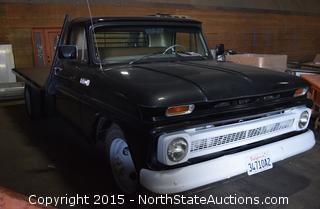 1965 Chevrolet C-30 1-Ton Flatbed Truck