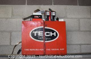 TECH Tire Repairs Cabinet