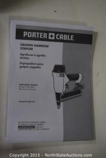 Porter Cable Crown Narrow Stapler