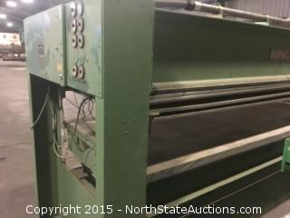 Press Burkle Membrane Press  for Wood Veneer Production.