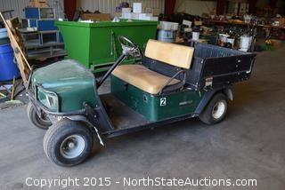 Cushman Gas-Powered Cart