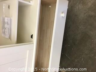 White Cottage Armoire