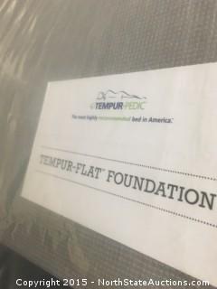1 Sealy Tempur-Pedic Tempur-Flat Foundation