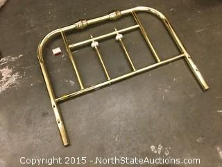 Child's Brass Headboard
