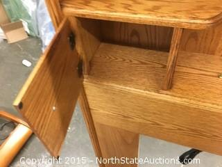 Queen Nostalgia Bookcase Headboard