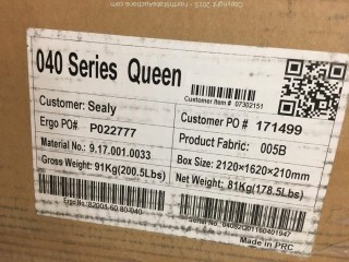 Sealy Queen Adjustable base in box