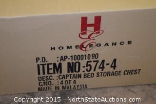 Captains Bed Storage Chest
