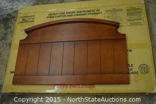 Wooden Headboard