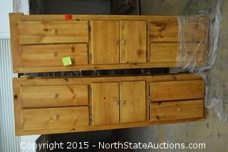 Full Size Bed Platform with Drawers