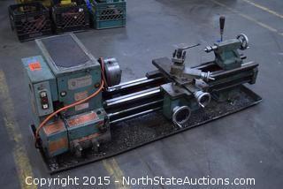 Trans-World Steel Inc. Metal Lathe