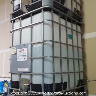 300-Gallon Tanks with Aluminum Bin