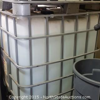 300-Gallon Tank with Aluminum Bin