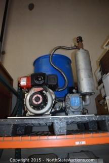 Universal Rai Blower, 55-Gallon Drum
