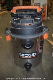 16 Gallon Stainless Steel Wet and Dry Vac