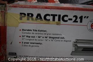 "2 Practic 21"" Tile Cutters"