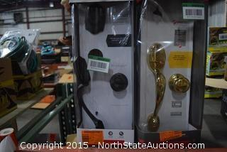 2 Kwikset Front Entry Handle Sets