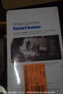 Smart Code Touchpad Electronic Entry, Schlage Sense Smart Deadbolt