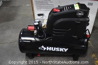 Husky 8-Gallon Oil-Free Air Compressor