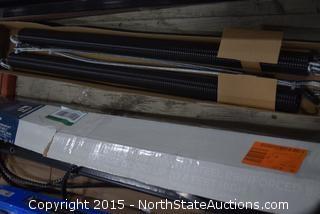 Garage Door Rails, Belts, Pocket Door Hardware