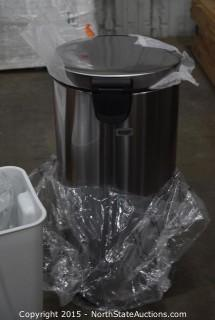 SimpleHuman Foot-Operated Trash Can