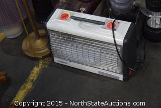 Hoover Steam Cleaner, Eureka Vac, Tower Fan, 3 Lamps, Storage Bins, Heater