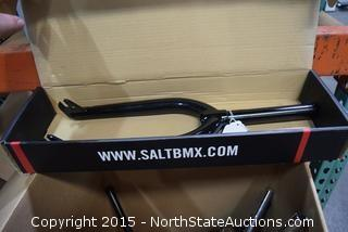BMX Fork, Bicycle Handlebars