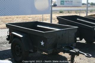 Strickr Army Jeep Trailer
