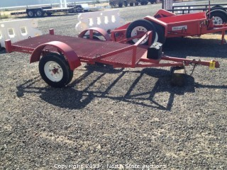 1995 4x8 Brite Carrier Trailer