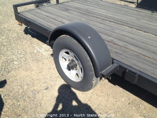 1996 6x12 Champion Carrier Trailer