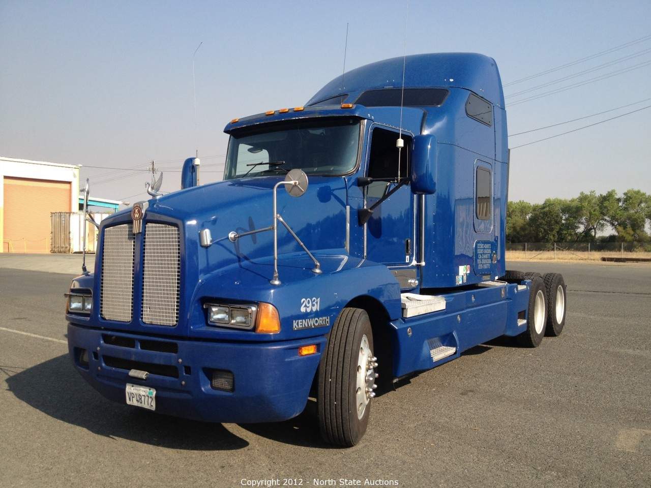 Semi Tractor Trailer : North state auctions auction bank repo sale of