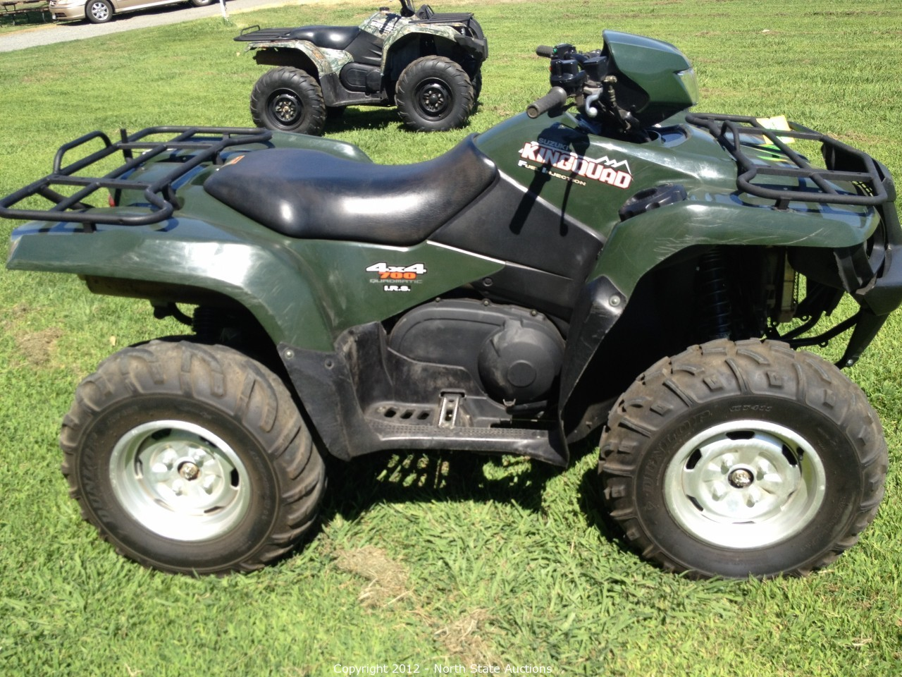 North State Auctions - Auction: Consignment Auction of ATVs, UTVs,  Motorcycles, and Trailers. ITEM: 2005 Suzuki King Quad 700 4X4 Fuel  Injected.